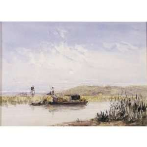 Hand Made Oil Reproduction   David Cox   32 x 32 inches