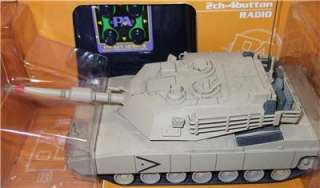 KYOSHO Radio Controlled Military Tanks Challenger 1, Panther A, M1A2