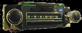 1969 Chevelle/Camaro/Nova AM/FM/Stereo Radio