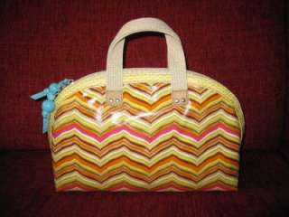 NWT Fossil Womens Key Per Large Dome Cosmetic Case Purse Bag