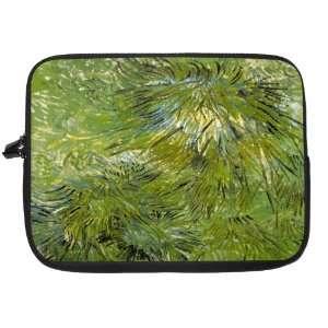 Van Gogh Art Grass Laptop Sleeve   Note Book sleeve