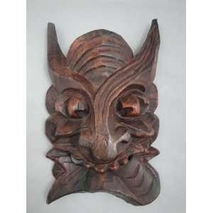 Tribal Ritual 10 Solid Wood Wall Art Decor Mask #349   FREE