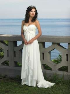 Maternity Gown bridal/bridesmaid Wedding dresses custom size