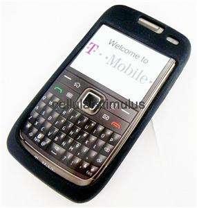 OEM T Mobile Nokia E73 Mode Black Gel Skin Case Cover