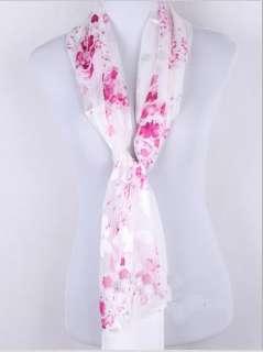 Beautiful fashion women 100% silk long dress scarf shawl wrap