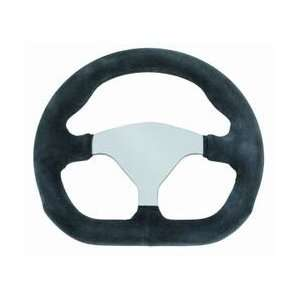 Grant Racing Aluminum GT Steering Wheel 10 in. x 9 in. Diameter Black