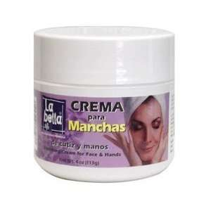 La Bella Quita Manchas Crema Size 4 OZ Beauty