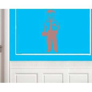 Energetic Young Work Manvinyl Decal Wall Sticker Mural