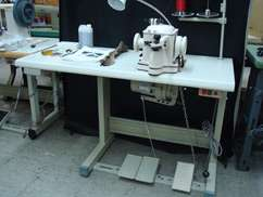 Full power stand with Techsew 550 Servo motor