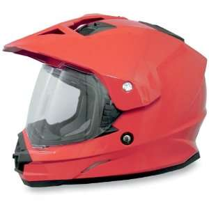 AFX FX 39 Dual Sport Motorcycle Helmet Solid Red XL