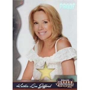 Kathie Lee Gifford 2008 Donruss Americana PROOF Card #191