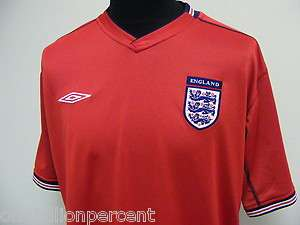ENGLAND 2002 AWAY UMBRO FOOTBALL SOCCER SHIRT JERSEY TOP XL