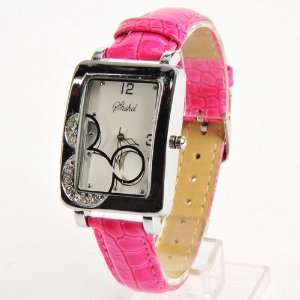Mickey Mouse Head Wrist Watch Wristwatch Rose: Toys & Games