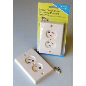 Cd/1 x 6: Prime Line Swivel Outlet Cover (S 4447): Home