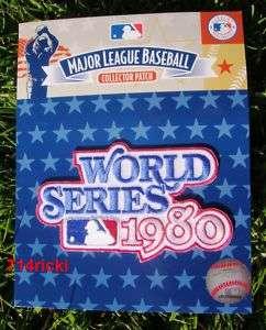 1980 World Series Patch Philadelphia Phillies Jersey