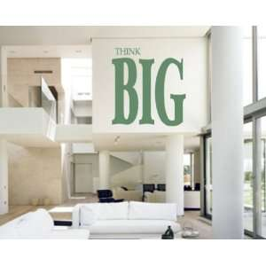 Think BIGvinyl Decal Wall Sticker Mural Everything