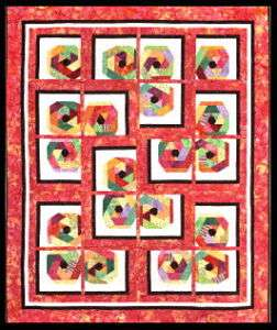 PETAL POP Moda Jelly Roll PATTERN Strip Quilting