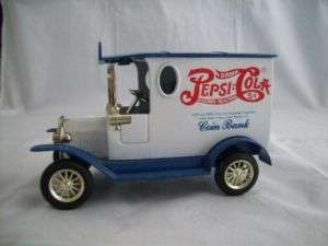 Pepsico Pepsi Cola Soda Delivery Truck Coin Penny Bank