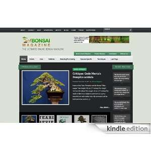 ofBonsai Magazine: Kindle Store: Paul Srtokes