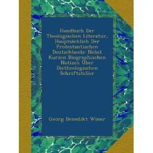 Schriftsteller (German Edition) Georg Benedikt Winer Books
