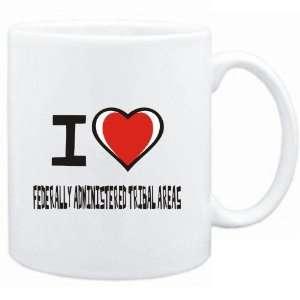 Mug White I love Federally Administered Tribal Areas