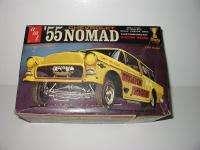 Vintage AMT 55 Chevrolet Nomad Model Kit,1/25 scale,kit # 2755 200,in