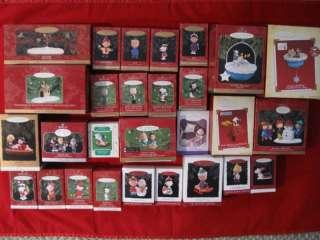Hallmark Charlie Brown Peanuts Gang & Snoopy Lot of 28