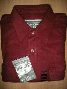 NWT FIELD & STREAM Mens XL Heavy Duty Flannel Long Sleeve Shirt