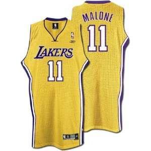 Karl Malone Gold Reebok NBA Swingman Los Angeles Lakers