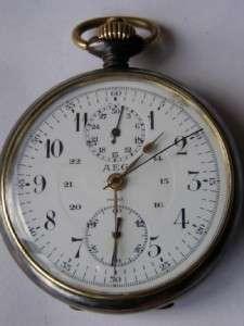 antique WWI German military AEG chronograph watch