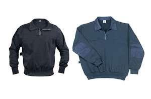 Navy Blue Public Safety Firefighter EMS Work Shirt