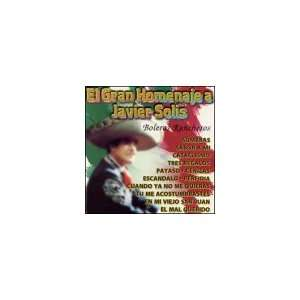 Gran Homemaje a Javier Solis Various Artists Music