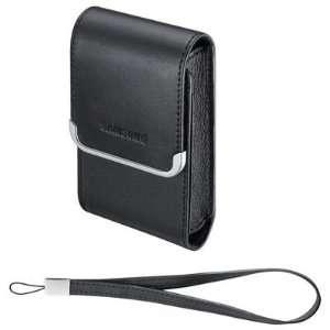Slim Vertical Leather Case (Black)