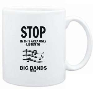 In this area only listen to Big Bands music  Music
