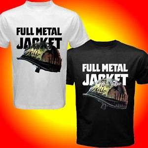 Full Metal Jacket Bullet US Marines Vietnam War T shirt