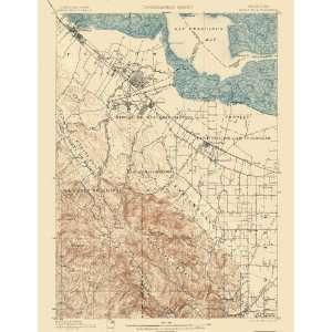 USGS TOPO MAP PALO ALTO QUAD CALIFORNIA (CA) 1899