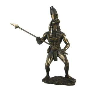 Egyptian God Horus Statue Deity Falcon Figurine: Home