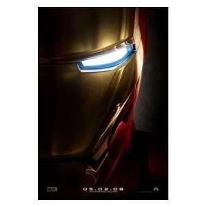 Iron Man Advance 14 x20 Original Movie Poster Single Sided