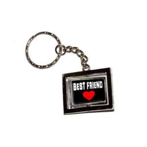 Best Friend Love   Red Heart   New Keychain Ring
