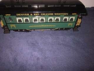 REA 31204 G SCALE GAUGE D.R.G.W. RIO GRANDE OBSERVATION CAR W