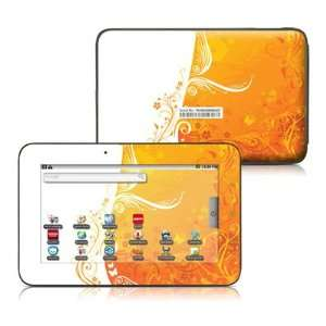 Orange Crush Design Protective Decal Skin Sticker for Velocity Micro