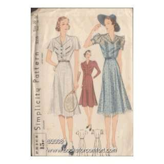 Misses' Dress, Simplicity 3068 Simplicity Pattern Co Inc Books