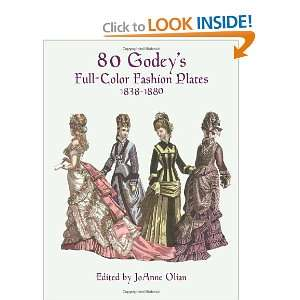 Color Fashion Plates (1838 1880) (9780486402222) JoAnne Olian Books