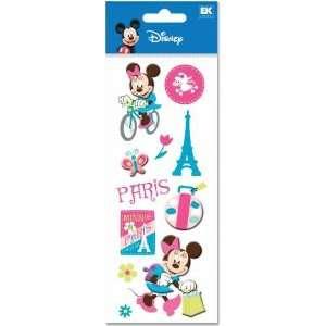 Disney Mickey Mouse Minnie Mouse Paris Dimensional