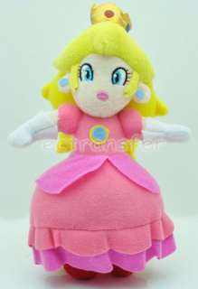 Super Mario Bros 7 PRINCESS PEACH Plush Doll Toy/MT87