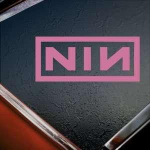 Nine Inch Nails NIN Pink Decal Car Truck Window Pink