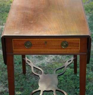 Antique George III Mahogany Pembroke Table c. 1790 1810