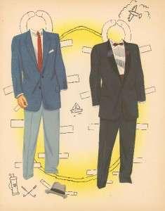 Vintage JONES FAMILY PAPER DOLLS LASER REPRO FREE SH W2