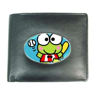 Keroppi Cute Mens Leather Wallet Credit Card Gift