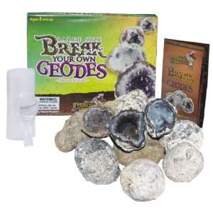 Large Size Break Open Geodes High Quality Kit 12 Whole Geodes